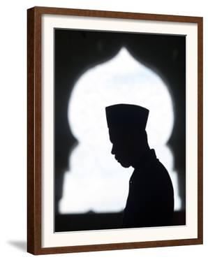 An Acehnese Man Says Ramadan Prayers