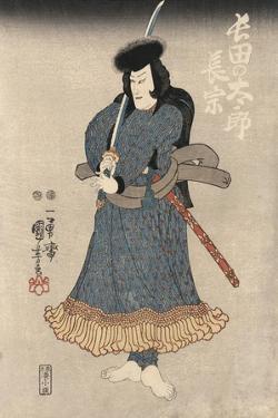 An Actor in the Role of Osadanotaro Nagamune