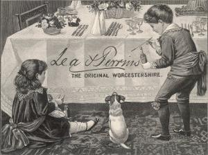 An Advertisement for Lea and Perrins Original Worcestershire Sauce