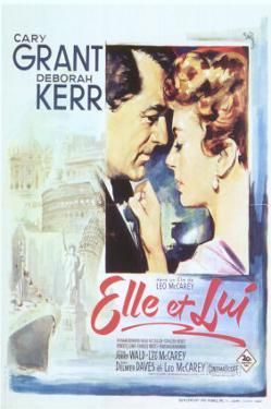 An Affair to Remember, Spanish Movie Poster, 1957