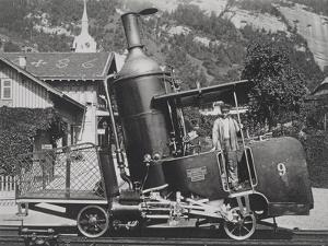 An Alpine Steam Locomotive