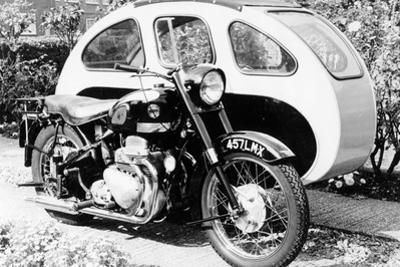An Ariel Square 4 1000cc, with a Large Sidecar, C1952