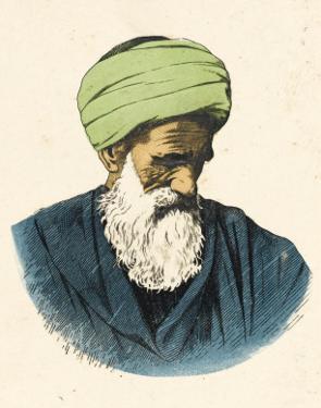 An Elderly Egyptian Muslim Man