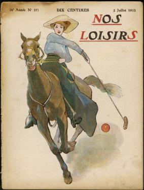 An Enthusiastic Lady Polo Player