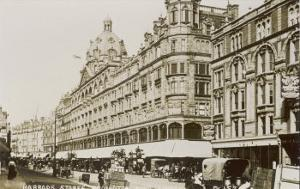 An Exterior View of Harrods London