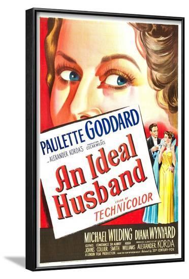 An Ideal Husband--Framed Art Print