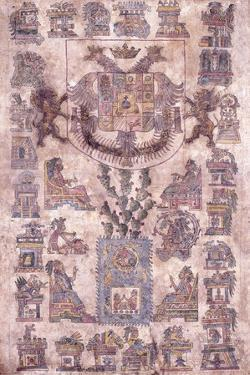 An Illuminated Document from Mexico, Showing the Coat of Arms of the Viceroy Sotomayor, C.1645