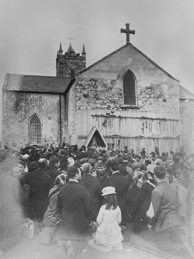 An Open Air Mass at the Shrine of Our Lady at Knock