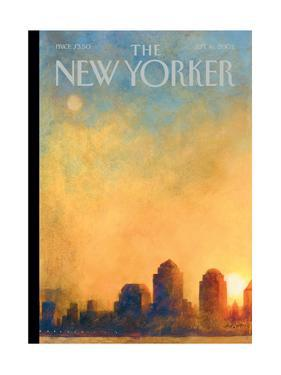 The New Yorker Cover - September 16, 2002 by Ana Juan