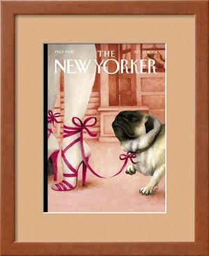 The New Yorker Cover - September 27, 2004 by Ana Juan
