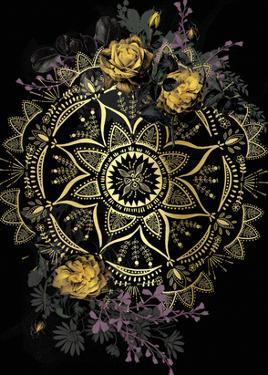 Golden Mandala by Anahata Katkin