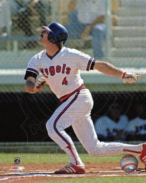 Anaheim Angels - Bobby Grich Photo