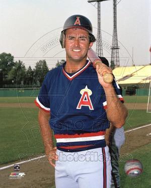 Anaheim Angels - Fred Lynn Photo