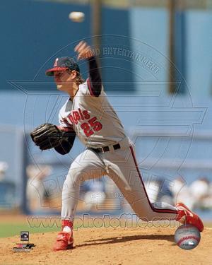 Anaheim Angels - Jim Abbott Photo