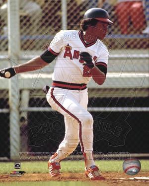Anaheim Angels - Rod Carew Photo
