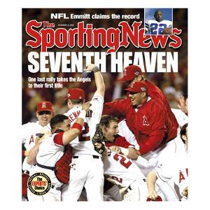 Anaheim Angels - World Series Champions - November 4, 2002