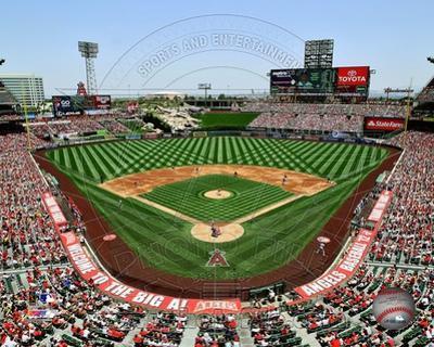 Anaheim at Angel Stadium 2012