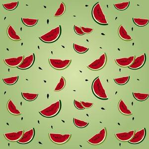 Watermelon Pattern by AnaMarques