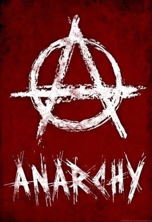 Anarchy Symbol Resistance Poster