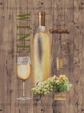 White Wine on Reclaimed Wood by Anastasia Ricci