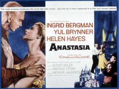 Anastasia, Yul Brynner, Ingrid Bergman, 1956