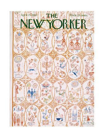 The New Yorker Cover - April 21, 1962 by Anatol Kovarsky