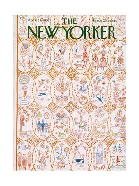 The New Yorker Cover - April 21, 1962 by Anatol Kovarsky
