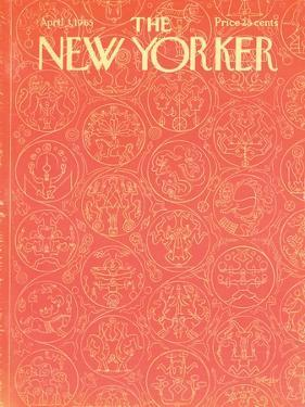 The New Yorker Cover - April 3, 1965 by Anatol Kovarsky
