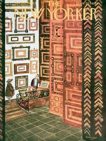 The New Yorker Cover - April 6, 1963 by Anatol Kovarsky