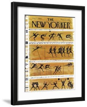 The New Yorker Cover - August 27, 1960 by Anatol Kovarsky