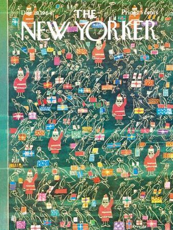 The New Yorker Cover - December 19, 1964 by Anatol Kovarsky