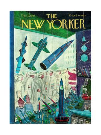 The New Yorker Cover - December 9, 1961 by Anatol Kovarsky