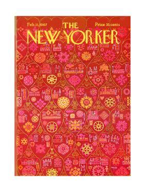 The New Yorker Cover - February 11, 1967 by Anatol Kovarsky
