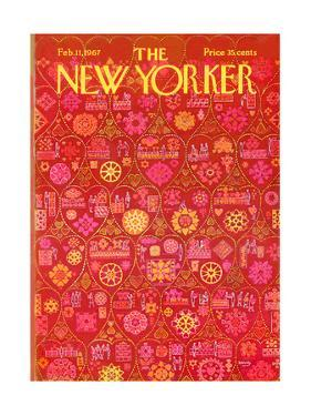 The New Yorker Cover - February 11, 1967 by Anatol Kovarsky