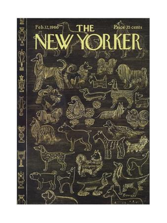 The New Yorker Cover - February 12, 1966 by Anatol Kovarsky