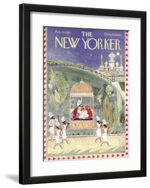 The New Yorker Cover - February 15, 1958 by Anatol Kovarsky