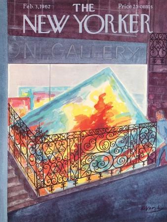 The New Yorker Cover - February 3, 1962 by Anatol Kovarsky
