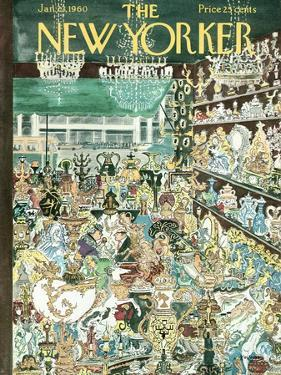 The New Yorker Cover - January 23, 1960 by Anatol Kovarsky