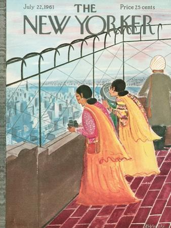 The New Yorker Cover - July 22, 1961 by Anatol Kovarsky