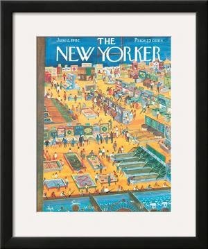 The New Yorker Cover - June 2, 1962 by Anatol Kovarsky