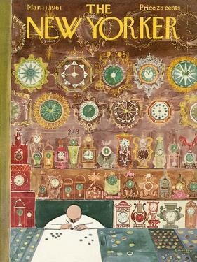 The New Yorker Cover - March 11, 1961 by Anatol Kovarsky