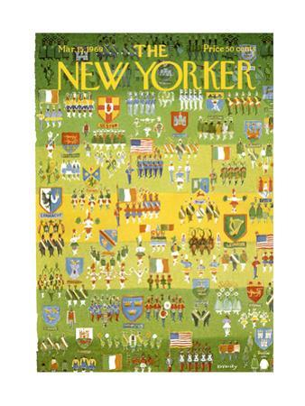 The New Yorker Cover - March 15, 1969 by Anatol Kovarsky