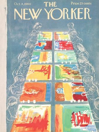The New Yorker Cover - October 8, 1960 by Anatol Kovarsky