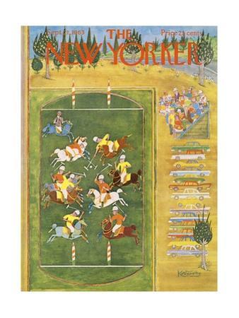 The New Yorker Cover - September 21, 1963 by Anatol Kovarsky