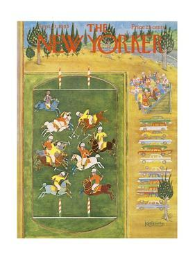 The New Yorker Cover - September 21, 1963 by Anatol Kovarsky