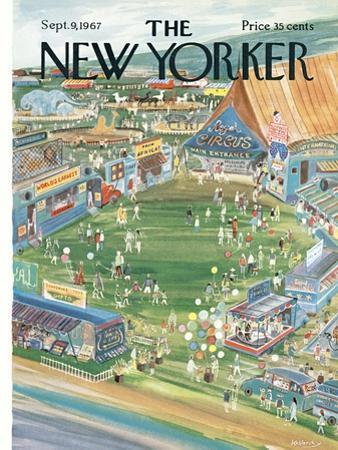 The New Yorker Cover - September 9, 1967 by Anatol Kovarsky