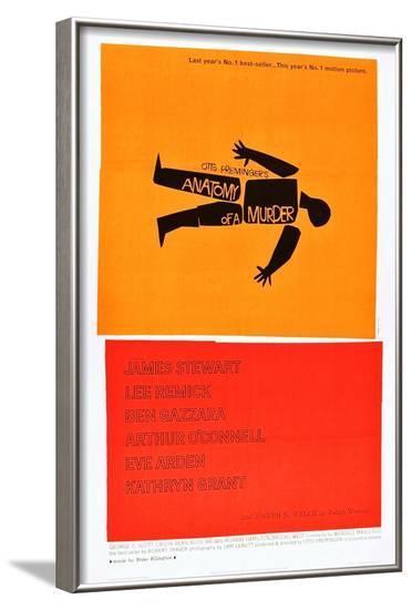 Anatomy of a Murder--Framed Art Print