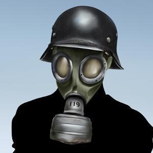 Wwii Gas Mask by anatomyofrockthe