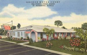 Anchor Motor Court, St. Petersburg, Florida