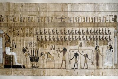 Ancient Egypt : the Weighing of the Souls
